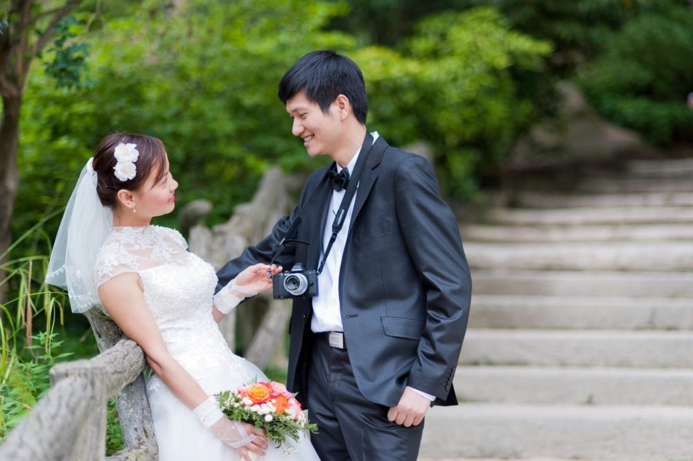 Paris Photographer Vietnamese wedding photography Paris