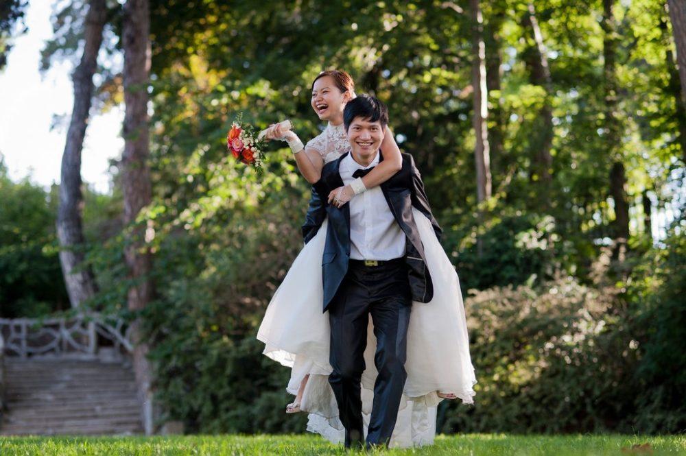 Paris Photographer Wedding photography parc Montsouris Paris