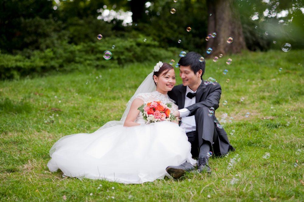 Paris Photographer wedding Parc Monceau