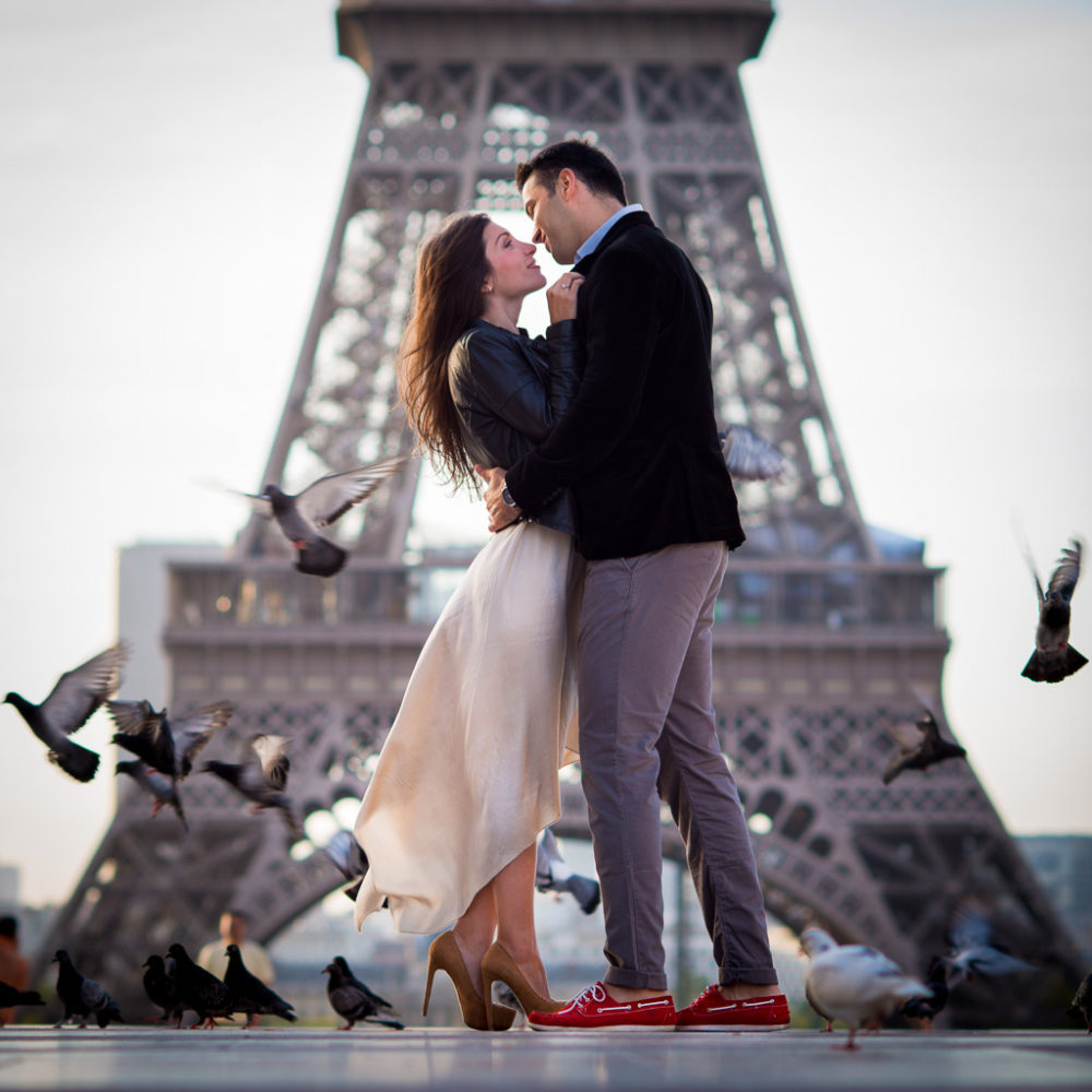 Paris photographer Engagement photography in Paris