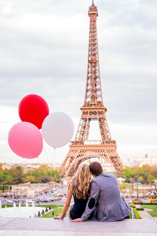 Couple photo session in Paris - Lindsay & Jonathan by Fran