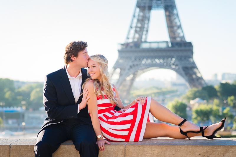 Morning surprisa proposal in Paris - Danielle and Ivan 15