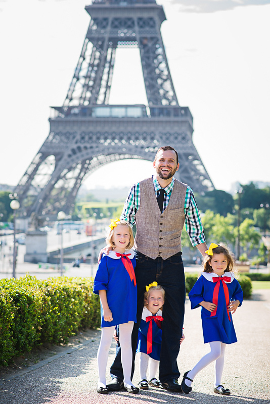 Madeline themed family fairy-tale in Paris 6