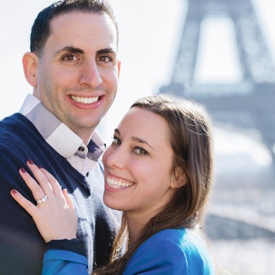 Jessica & Michael proosal testimonial Paris photographer