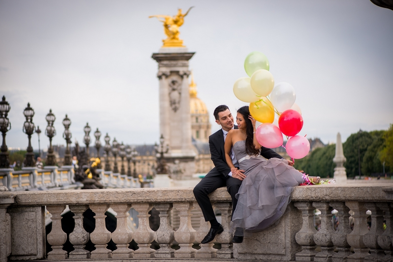 Honeymoon photo session in paris with lily amp aaron