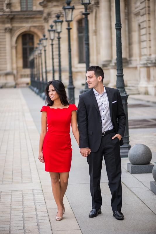 Honeymoon photo session with Paris photographer Fran Boloni
