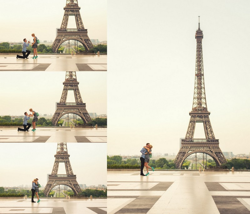 The moment of Proposing in Paris