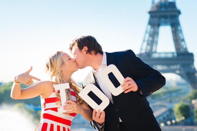Morning surprise proposal in Paris – Danielle and Ivan 11