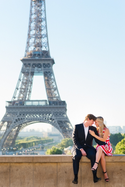 Morning surprise proposal in Paris – Danielle and Ivan 13