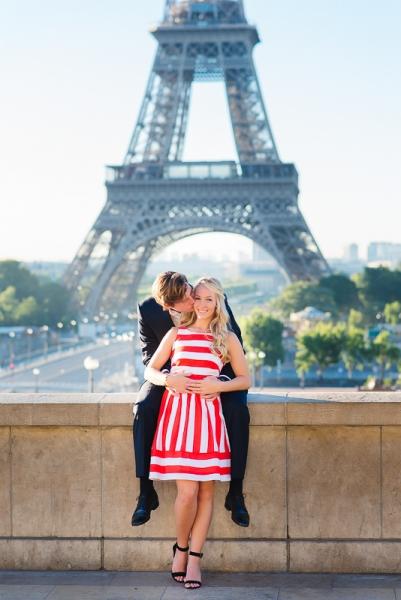 Morning surprise proposal in Paris – Danielle and Ivan 16