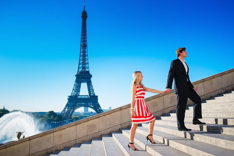 Morning surprise proposal in Paris – Danielle and Ivan 17