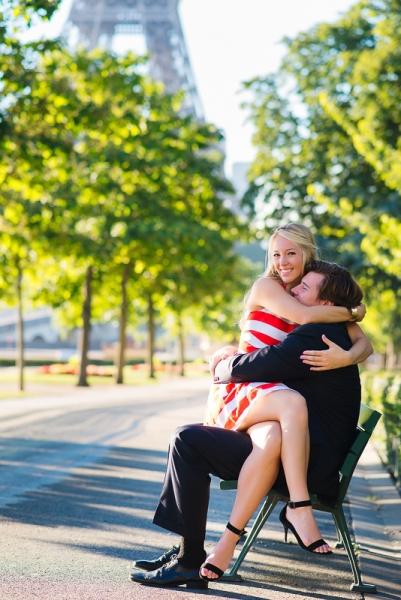 Morning surprise proposal in Paris – Danielle and Ivan 18