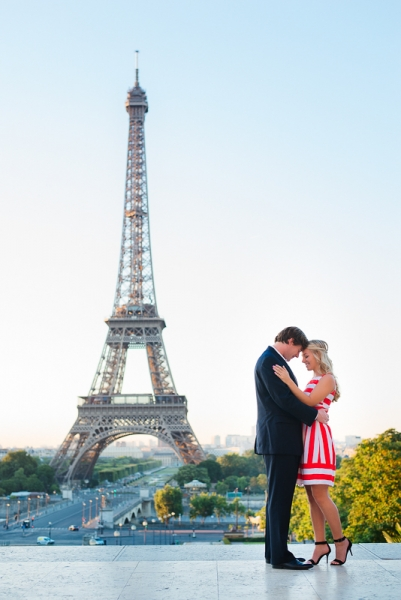 Morning surprise proposal in Paris – Danielle and Ivan 2
