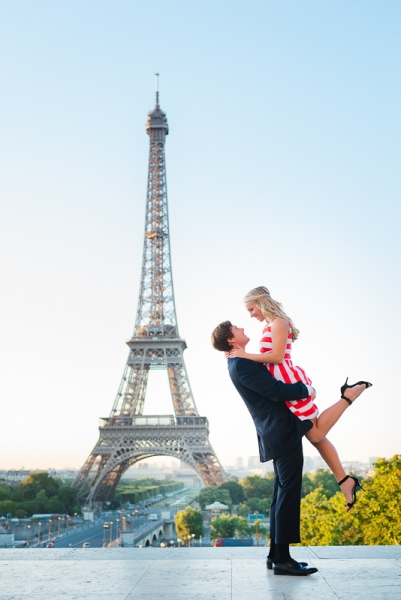 Morning surprise proposal in Paris – Danielle and Ivan 3