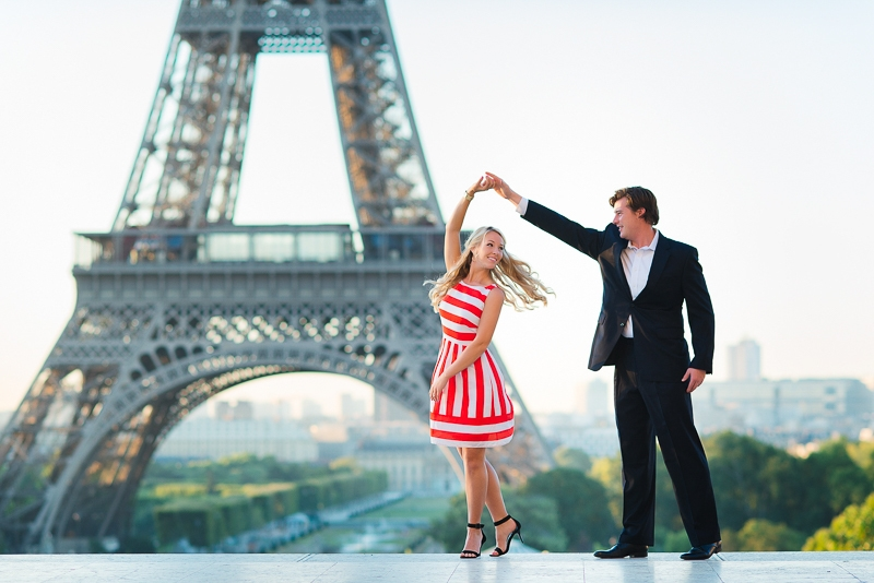 Morning surprise proposal in Paris – Danielle and Ivan 5