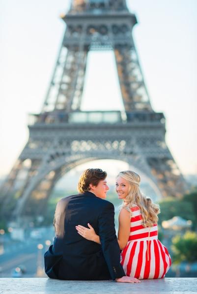 Morning surprise proposal in Paris – Danielle and Ivan 7