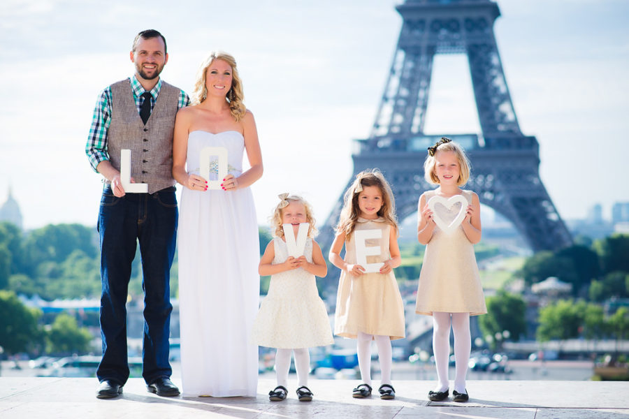 Madeline themed family fairy-tale in Paris
