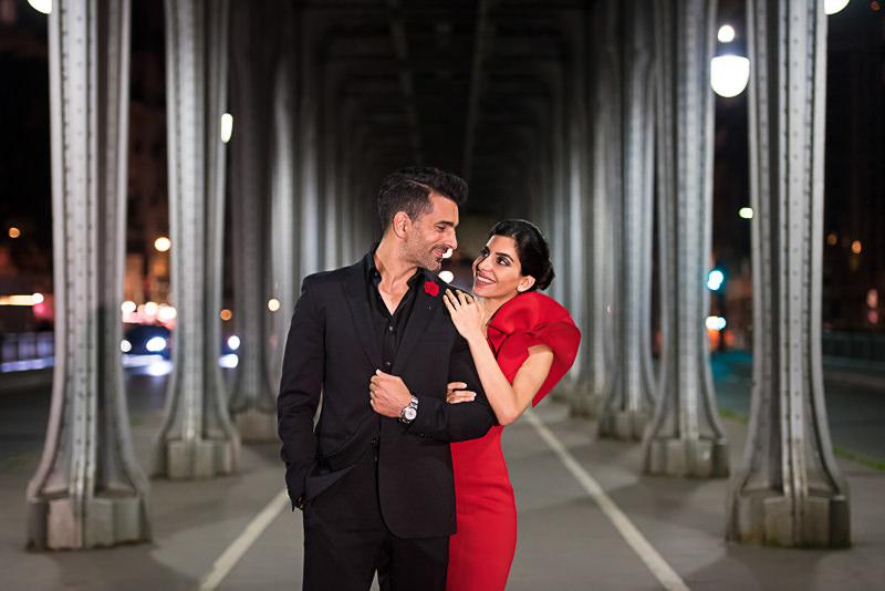 Inception bridge is ideal for engagement photos