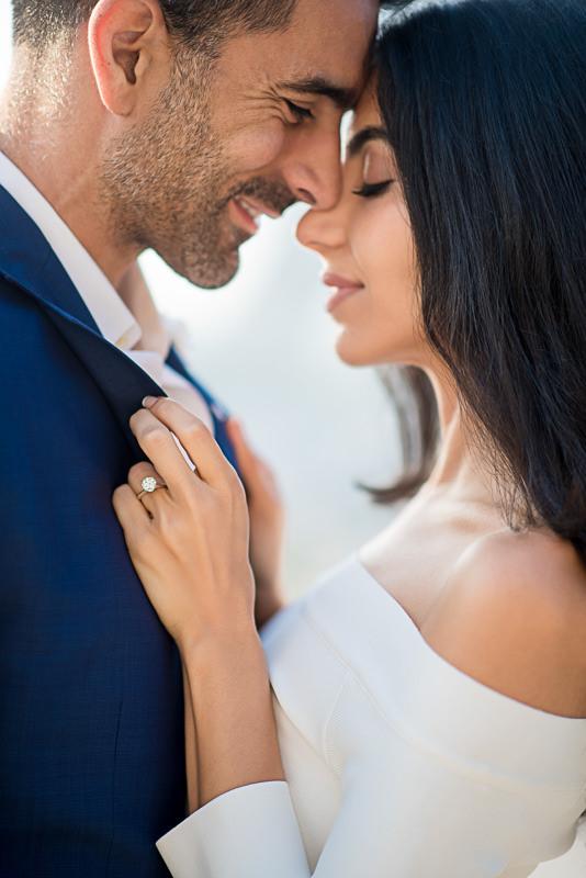 Beautiful Persian couple romance