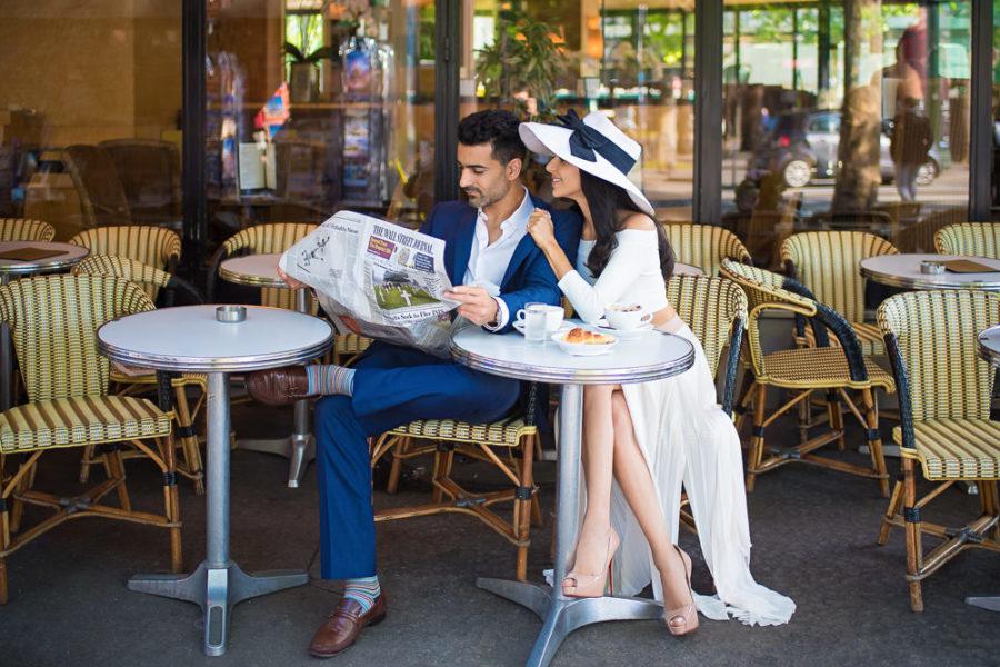 Paris engagement photos tips - When to book a Paris engagement photographer