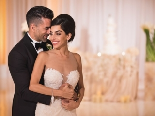 Couples photos – Wedding picture of iranian couple on their wedding day at the Montage in Laguna Beach, California