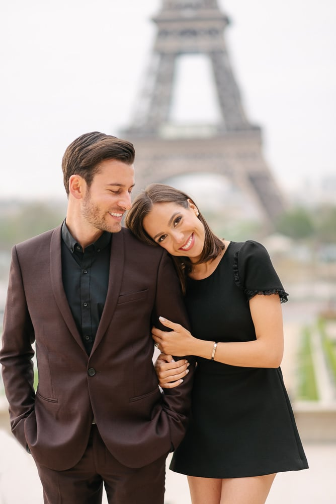 Molly & Edouard - testimonial about Paris photo shoot with The Paris Photographer - 2 hours collection