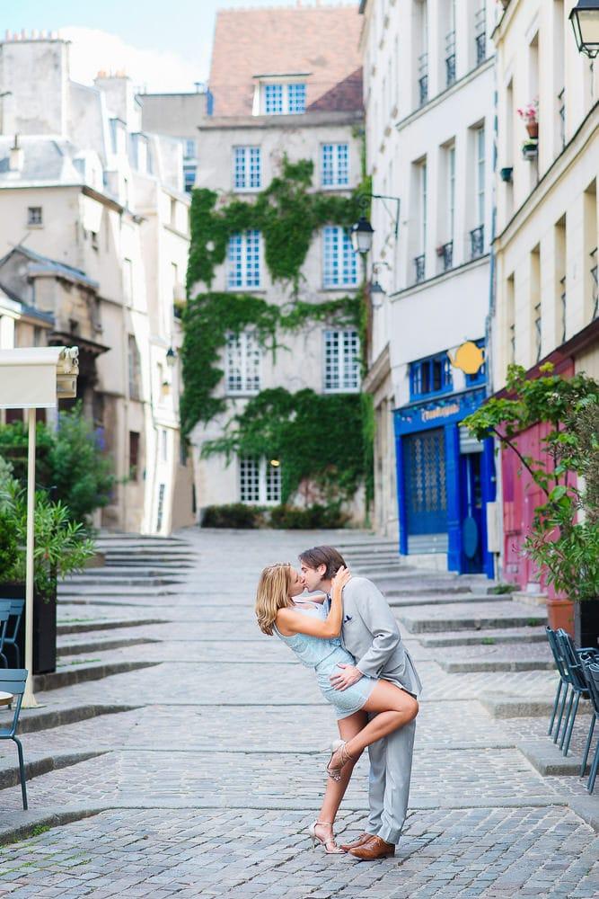 best photo spots paris cobbled stone streets around notre dame