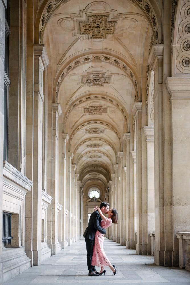 best photography spots in Paris – architecture louvre museum