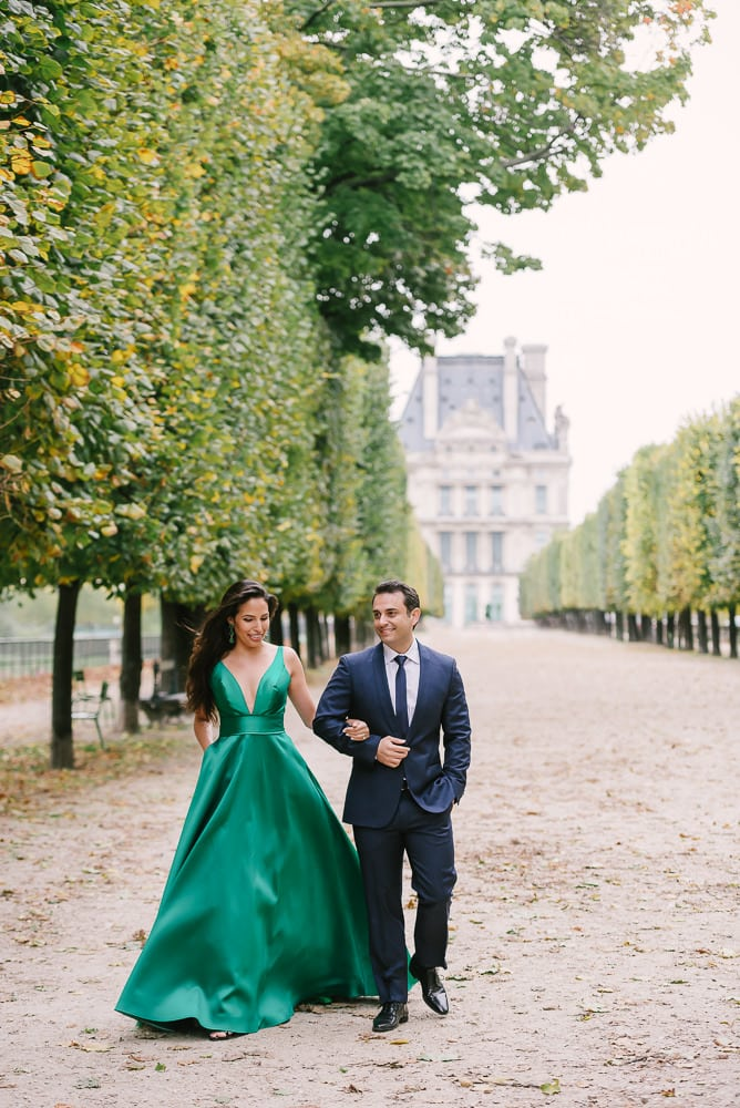 best photography spots in Paris, the Tuileries Gardens