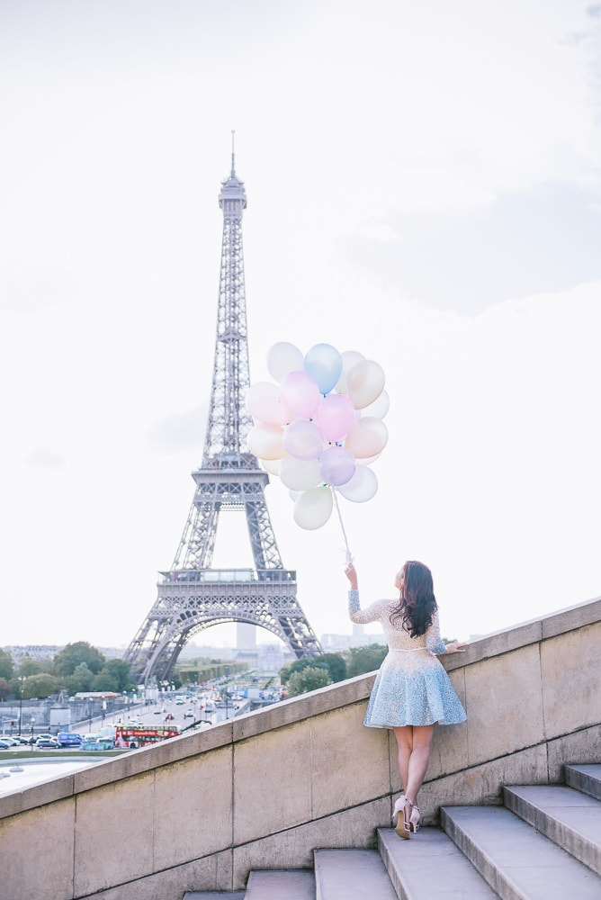 best places to take photos in paris – eiffel tower