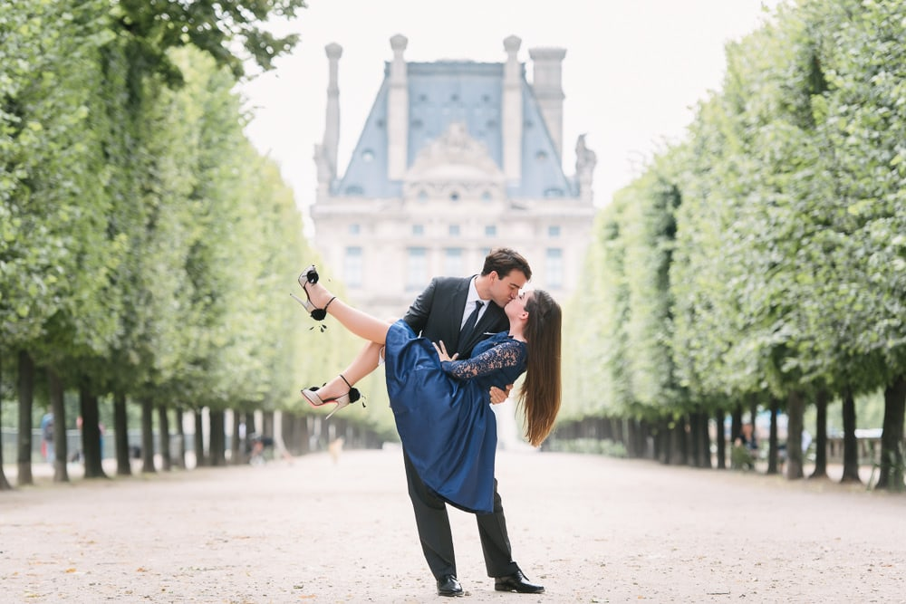 Paris Engagement Photographer - The Paris Photographer