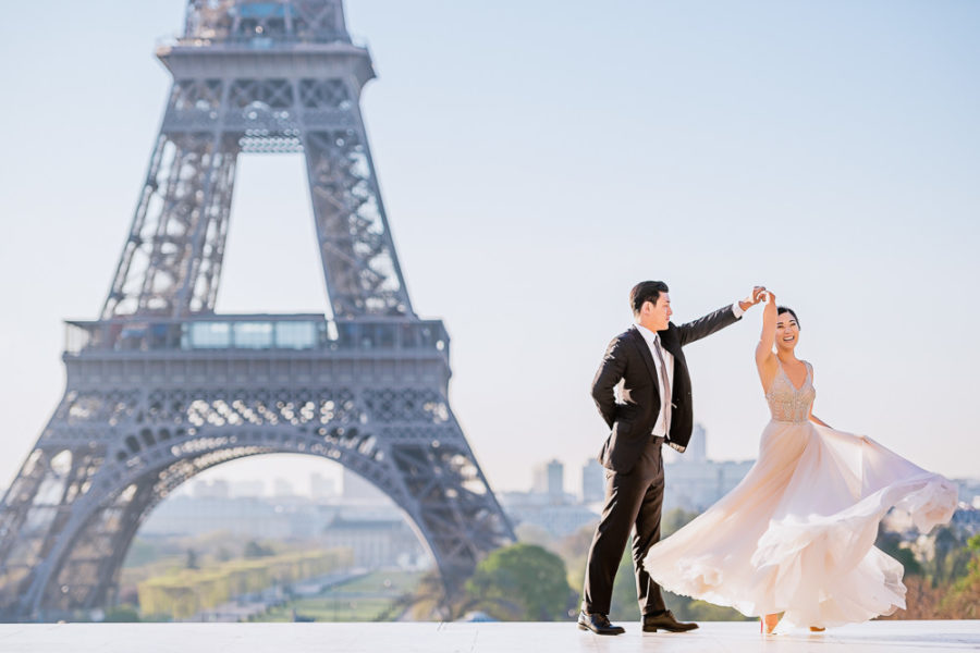 Paris pre wedding photographer - The Paris Photographer - Fran Boloni
